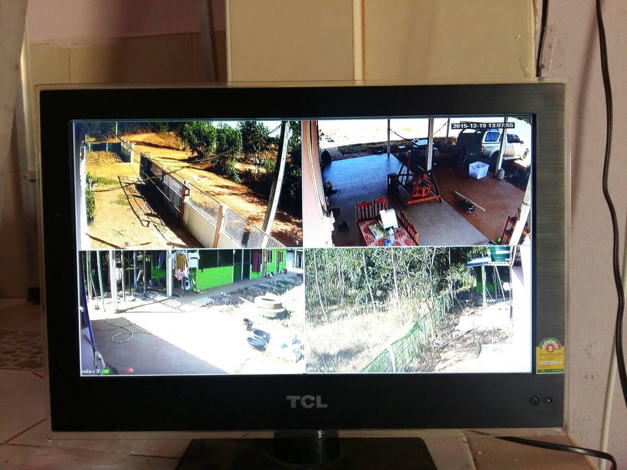 งานติดตั้งใหม่กับกล้องวงจรปิดระบบ HD-CVI BY DAHUA